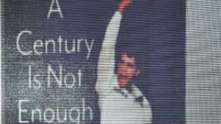 Why Sourav Ganguly's book is titled, 'A Century Is Not Enough'?