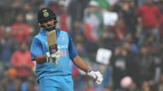 Rohit Sharma dedicates his knock to wife Ritika Sajdeh
