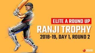 Ranji Trophy 2018-19, Elite A round-up Round 2, Day 1: Yusuf Pathan's 99 powers Baroda to strong start, Saurashtra pin hopes on Ravindra Jadeja