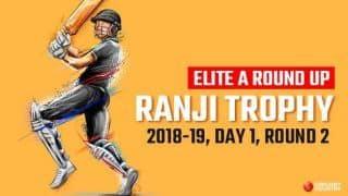 Ranji Trophy 2018-19, Elite A round-up Round 2, Day 1: Yusuf Pathan's 99 powers Baroda to strong start, Saurashtra pin hopes on Ravindra Jadeja