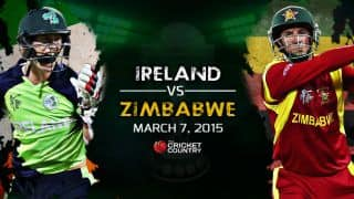 Ireland vs Zimbabwe ICC Cricket World Cup 2015, Pool B Match 30 at Hobart, Preview: A battle of equals on cards