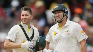 Shane Watson confident of Michael Clarke's recovery for India series