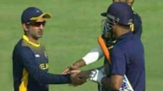MS Dhoni & Gautam Gambhir: All is well with the two Indian cricketers