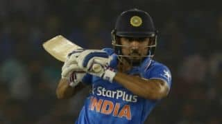 Pandey's unbeaten 93 ensures IND A edge past SA A by a wicket