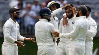 2nd Test, Perth: India keep Australia to 277/6 on up-and-down Perth surface