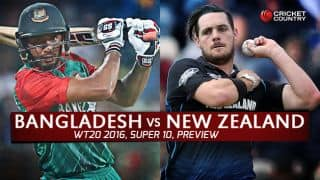 Bangladesh vs New Zealand, T20 World Cup 2016, Match 28 at Kolkata, Preview: Hurt 'Tigers' look to salvage some pride