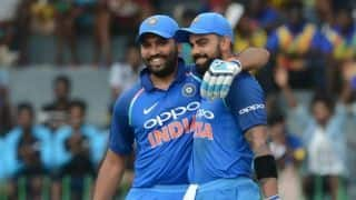 Rohit Sharma-Virat Kohli equals Adam Gilchrist-Matthew Hyden's record of 3rd most 100-runs partnership in ODIs