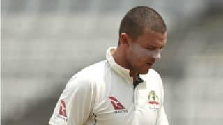 Ashes 2017-18: Josh Hazlewood struggling to regain full fitness