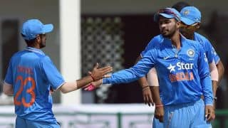 Photos: India A vs South Africa, T20 warm-up game at Palam