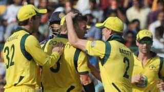 Australia regain No 1 position in ICC ODI rankings