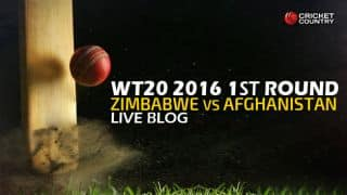 ZIM 127 in 19.4 Overs | Live Cricket Score Afghanistan vs Zimbabwe, ICC World T20 2016 AFG vs ZIM 9th T20 Match at Nagpur: AFG win, qualify for Super 10s