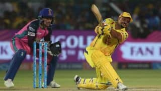 IPL 2018, Match 43: Raina's 52 helps CSK to 176 for 4 vs RR