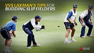 VVS Laxman's tips for budding slip fielders