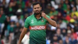 Bangladesh coach laments absence of apt replacement for veteran pacer Mashrafe Mortaza