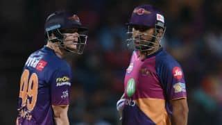 IPL 2017: Rising Pune Supergiant (RPS) captain Steven Smith defends struggling MS Dhoni