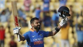 नागपुर वनडे : कोहली का शानदार शतक, भारत 250 रन पर ऑलआउट