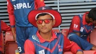 नेपाल के संदीप जोरा ने सबसे कम उम्र में लगाया अर्धशतक