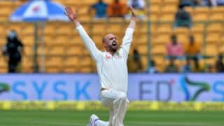 IND vs AUS, 2nd Test, Day 2: Lyon, O'Keefe dismantle Indian middle-order before tea