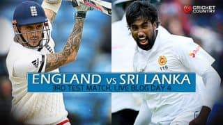 SL 32/0, Session 3, Live Cricket Score, 3rd Test, Day 4 at Lord's