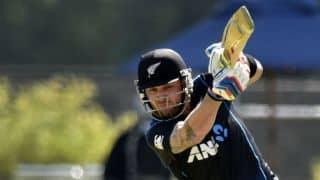 New Zealand 100/5 after 22 overs vs Sri Lanka
