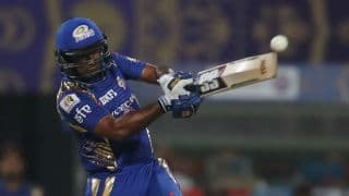 IPL 2017: Rayudu, Tiwary fifties guide MI to 173/5 vs KKR