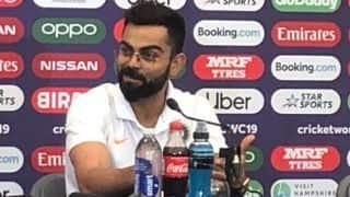 Cricket World Cup 2019: Virat Kohli gutted for good friend Dale Steyn
