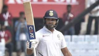 3rd Test: Rohit Sharma moves to 199 as India reach 357/4 at lunch on second day