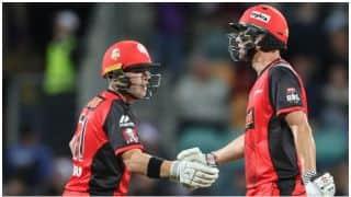 बिग बैश लीग, तीसरा मैच- मेलबर्न रेनीगेड्स ने होबार्ट हरीकेंस को 7 विकेट से हराया