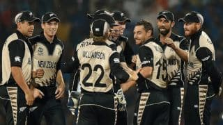 New Zealand spin out high-flying India, serve wake-up call in T20 World Cup 2016