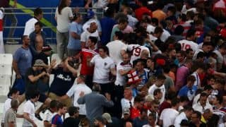 Euro 2016: UEFA gives Russia warning of possible disqualification following crowd violence