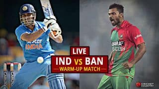 BAN 84 all-out in 23.5 overs | LIVE ICC CT 2017 Score, IND vs BAN, warm-up match: IND win by 240 runs