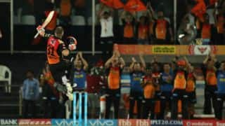 SRH vs KKR, IPL 2017, match 37: Warner registers highest score by an IPL captain & other highlights
