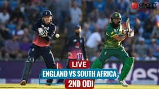 Live Cricket Score, ENG vs SA, 2nd ODI at Southampton: SA win toss, elect to field