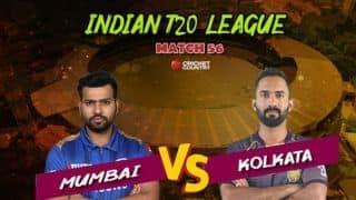 MI vs KKR Live: MI end KKR's qualification hopes with nine-wicket win
