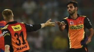 सनराइजर्स हैदराबाद ने दी किंग्स इलेवन पंजाब को 5 रनों से मात