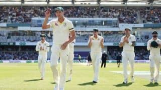 Ashes 2019: Josh Hazlewood scalps five to put Australia on brink of retaining Ashes