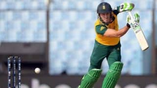Zimbabwe Triangular Series 2014: Australia vs South Africa, 5th ODI at Harare: Faf du Plessis wages a lone battle