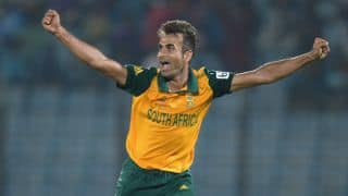 South Africa go 1-0 up with 19-run win over Sri Lanka in rain-marred 1st T20I