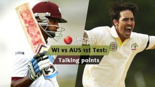 West Indies vs Australia 2015, 1st Test at Dominica: Talking points