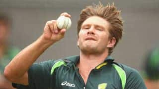 Shane Watson approached by Hampshire for 2016 English domestic season