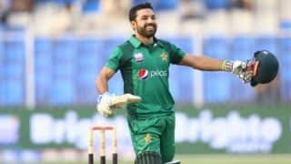 Pakistan vs Australia: Mohammed Rizwan ton guides Pakistan to set 285 runs target