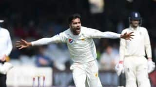 Mohammad Aamer's double blow takes Pakistan close to innings victory against England in 1st Test
