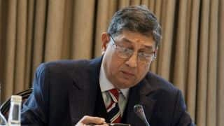 N Srinivasan re-elected TNCA president