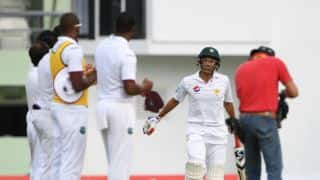 Watch: Younis receives guard of honour during Pakistan vs West Indies 3rd Test, Day 1