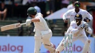 Day Report: Sri Lanka trail Australia by 2 runs with 9 wickets left