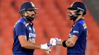 5th T20I: Virat Kohli, Rohit Sharma And Bowlers Shine as India Beat England to Clinch Series 3-2 | See Photos