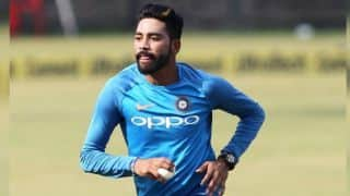 India A's Mohammed Siraj, Shahbaz Nadeem restrict West Indies A to 301/9