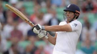 Alastair Cook helps England level with India at lunch on Day 2 of 5th Test at The Oval