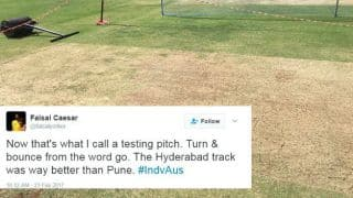 IND vs AUS, 1st Test: Twitter reacts to Pune's dry pitch