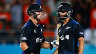 Grant Elliott, Brendon McCullum and Corey Anderson win it for New Zealand against South Africa in ICC Cricket World Cup 2015 semi-final